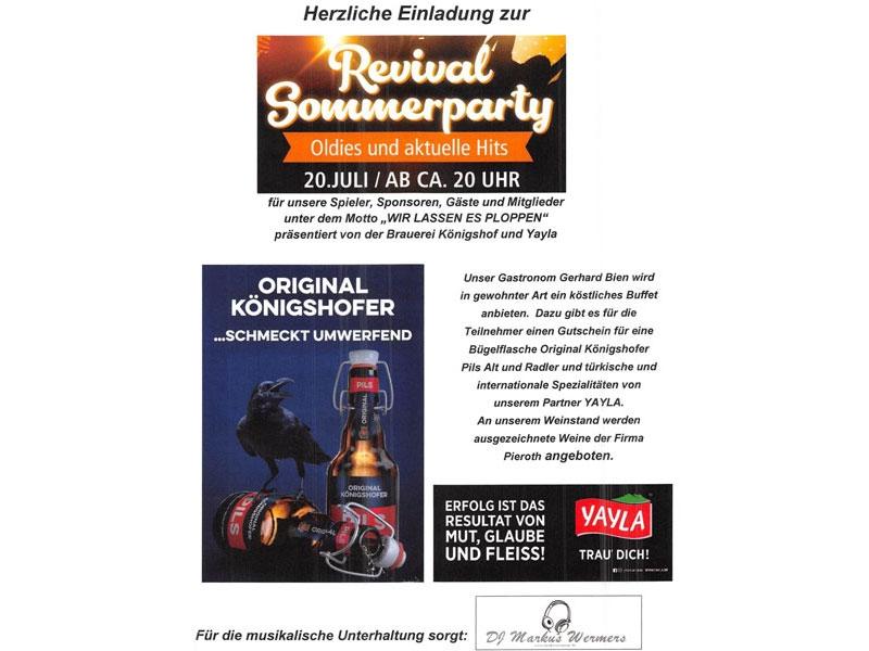 29. Krefeld - Open | REVIVAL SOMMERPARTY